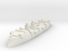 USS Baltimore (C-3) 1:1800 x1 in White Natural Versatile Plastic