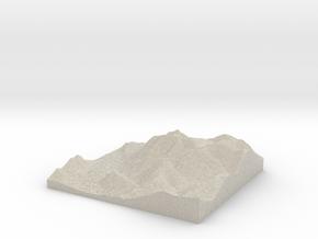 Model of Buttermere in Sandstone