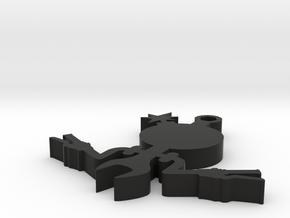 The Beemer Dan in plastic in Black Natural Versatile Plastic
