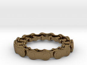 RS CHAIN RING SIZE 9 5 in Raw Bronze