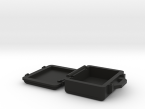 Hinged Mini Pelican Case in Black Strong & Flexible