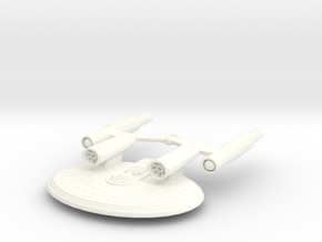 USS Eos in White Strong & Flexible Polished