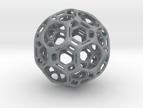 Intriguing globe in Polished Metallic Plastic
