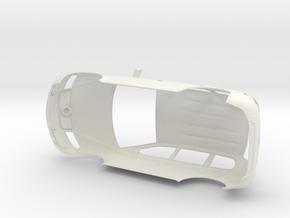 VW Touareg scale 1/8 in White Natural Versatile Plastic