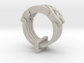 Holistic Ring in Natural Sandstone