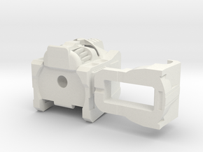 MP Grimlock Head in White Natural Versatile Plastic