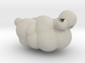 Sheep from LEO the Maker Prince: body section in Natural Sandstone