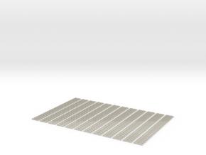 12 X Schwellenjoch Ne 95mm  Starr in White Acrylic