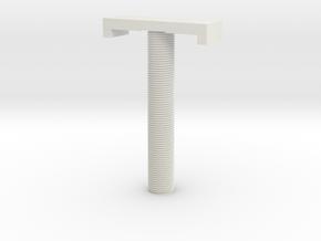 screw in White Natural Versatile Plastic