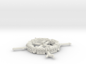 Space Station in White Strong & Flexible