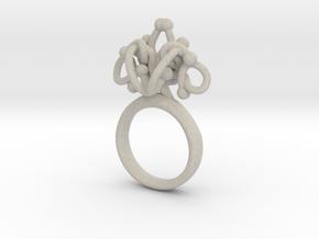 Sbosos 002 (7cm inner ring) in Natural Sandstone