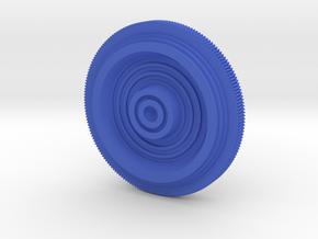 C3PO Neck Bolt LARGER HOLLOW in Blue Processed Versatile Plastic