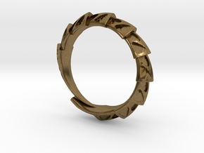 Game of Thrones Dragon Ring in Natural Bronze