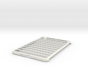 iPad Mini Abacus Case in White Natural Versatile Plastic