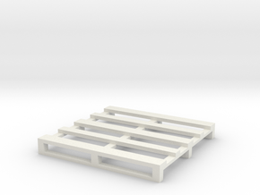 Pallet coaster 2 in White Natural Versatile Plastic
