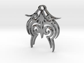 Tytrian WhiteHawk Trial Necklace 3 in Fine Detail Polished Silver
