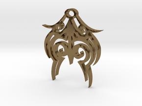 Tytrian WhiteHawk Trial Necklace 3 in Polished Bronze