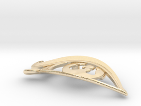 "Opale ""Trinity"" Pendant in 14K Yellow Gold"