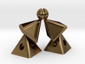Pyramid Kiss in Natural Bronze