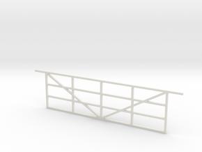 Gate 1/32 in White Natural Versatile Plastic