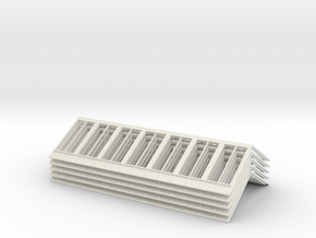 R1 13140 V3 Roof X 5 4mm in White Natural Versatile Plastic