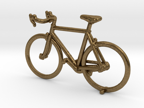 Singlespeed Bike in Natural Bronze