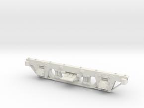 Carter Bros 5' wheel base Fn3 1:20.3 scale passeng in White Strong & Flexible