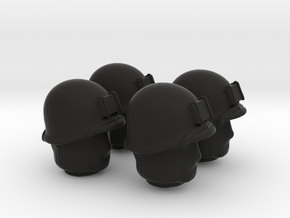 4 US marines head for lego  in Black Strong & Flexible