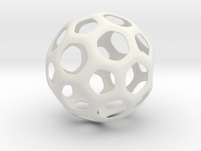 Hive Ball Small in White Strong & Flexible
