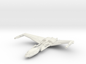 Bird Of Pray Class Cruiser Wings Up in White Strong & Flexible