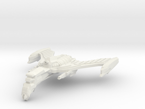 Roumlan Firestorm Class Battleship  in White Natural Versatile Plastic