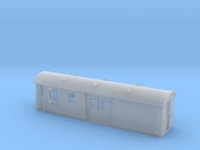 30ft Guards Van, New Zealand, (NZ120 / TT, 1:120) in Smooth Fine Detail Plastic
