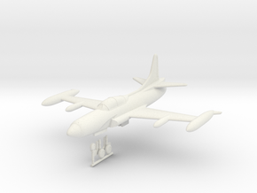 1/144 Lockheed F-94C Starfire in White Natural Versatile Plastic