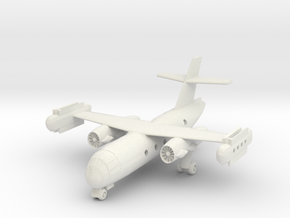 1/200 Dornier Do 31 on the Ground in White Strong & Flexible