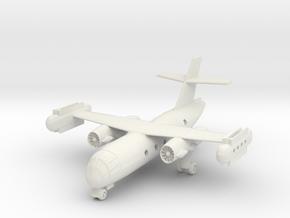 1/200 Dornier Do 31 on the Ground in White Natural Versatile Plastic
