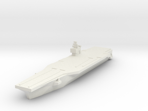 USN Nimitz class 1/4800 in White Natural Versatile Plastic
