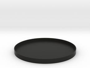 AE Rear Cap in Black Natural Versatile Plastic