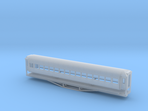 56ft 2nd Class, New Zealand, (N Scale, 1:160) in Smooth Fine Detail Plastic