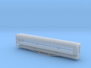 56ft 2nd Class, New Zealand, (NZ120 / TT, 1:120) in Smooth Fine Detail Plastic