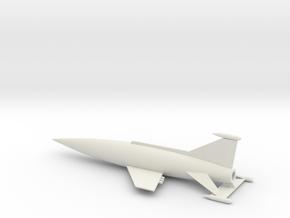 Spaceark (scale 1:1000) in White Natural Versatile Plastic