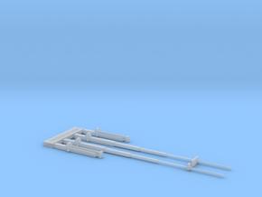 Funkmast-Set in Smooth Fine Detail Plastic