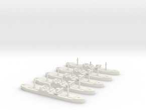 SS City of Flint (Hog Islander) 1/1800 x5 in White Natural Versatile Plastic