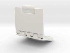 Rokenbok Laptop in White Natural Versatile Plastic