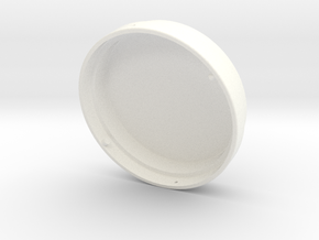 Locking drive cap in White Processed Versatile Plastic