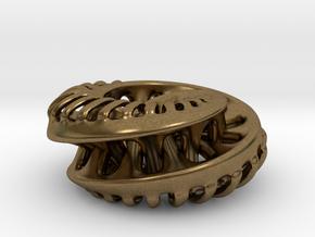 Mobius Ring in Natural Bronze