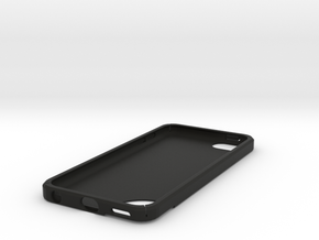 IPod Touch 5 Case in Black Strong & Flexible