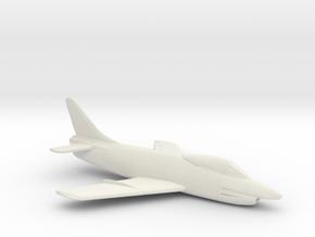 1:144 FIAT G.91  in White Natural Versatile Plastic