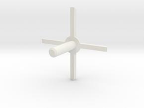MBPI-A11-QUA2 in White Natural Versatile Plastic