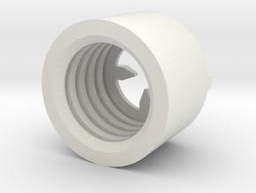 MBPI-B751-QUA in White Natural Versatile Plastic