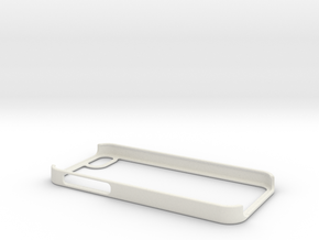 Iphone 5 & 5S Case Strong Secure fit tested in White Natural Versatile Plastic